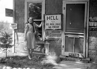 Michigan; Cities; Hell. scenes at Hell, Michigan