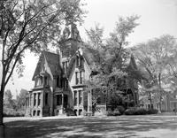 Michigan; Cities; Lansing; residences. Gates Mansion (old Barnes home). home of Gov. G. Mennen Williams