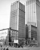 Cadillac Square Building; Exterior View. Showing Barlum Tower