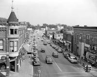 Michigan; Cities; Vassar. Main street
