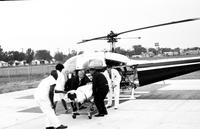 Michigan; Counties; Wayne . Gen. Hosp. (Eloise). Helicopter Ambulance service