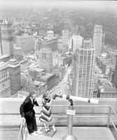Detroit; Downtown; From Penobscot Building. 9 negs. . 6-20-1939