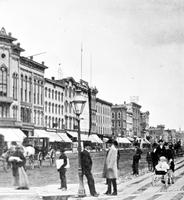 Old Detroit; Streets. Woodward Avenue. & Campus Martius . Old scenes