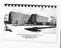 Providence Hospital. Proposed bldg. Copy