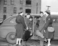 American Women's Voluntary Service (AWVS); Detroit. American Women's Voluntary Service Drive Cast of Winged Victory