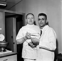 Rea, Edwin A. Pathologist. with Jack Kevorkian