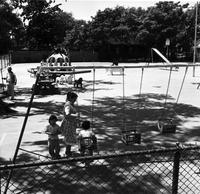 Recreation; Detroit. John Treen playground. Brooklyn & Edwin
