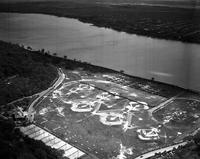 Aerial; Detroit; Police; Field Day at Belle Isle.