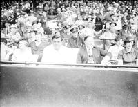 Ruth, Babe; Baseball; Groups. With Walter O. Briggs.