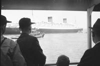 Steamships; Queen Elizabeth.