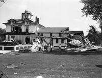 Storms; Michigan; Grosse Isle. Wreckage at Grosse Isle Golf & Country Club