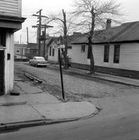 streets; Pearce. Detroit's remaining cobblestone street. Pearce at Riopelle
