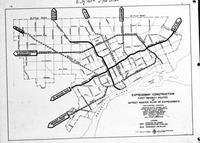 Streets; Superhighways; Maps; Showing Ford & Lodge Expressway