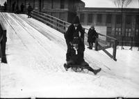 Winter; Sports; Tobogganing; Children