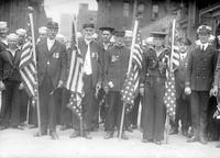 Parades; Memorial Day; Sailors in Parade; Old Scenes