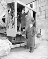 Pfeiffer Brewing Company; Detroit. -Breaking Ground for New Building; Mayor Reading, Alfred Epstein & Henry S. Sweeny