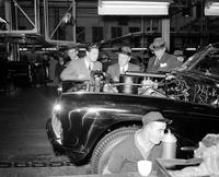 Romania; Royal Family; King Michael; In Detroit. -At Buick Plant
