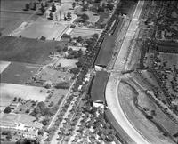 Autos; Races; Indianapolis; 1932. - Airphoto