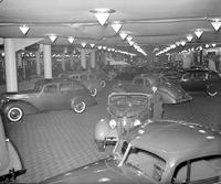 Automobiles; Shows; Detroit; 1937 - 1938