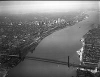 Bridges; Ambassador; Entire Span. - Airphoto.
