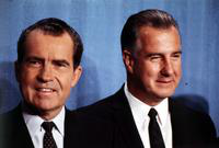 Nixon, Richard M. ; United States President-Elect. With Spiro T. Agnew, at right.