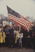 Nuclear Power; Demonstrations For & Against; Midland, Michigan. Circa Late 1980.
