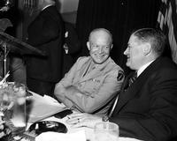 Eisenhower, General Dwight D. ; United States Army. -With; K. T. Keller