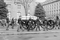 Eisenhower, Dwight D. ; Former United States President; Funeral. -Pictures by Al Stark, Detroit News Reporter