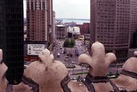 Detroit; Streets; Cadillac Square; From Roof of Lafayette Building