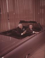 Dykstra, John; Pres. Ford Motor Company. With Henry Ford II.