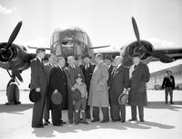 Wars; World; # 2; Truman Committee; Investigations. Touring Willow Run Bomber Plant (Ford Motor Company)