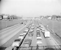 Streets; Ford Expressway. Traffic.