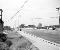 Streets; Ford Expressway. Construction. Superhighways - Edsel B Ford - Central Av. Bridge