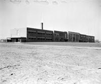 Schools; Rural; Southfield Township. Old High School.