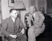 Sinclair, Upton; Author. With Maurice Sugar. 4x5