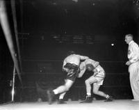 Boxing; Matches; Strong vs. Zywicki. -Golden Gloves