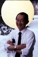 Yamasaki, Minoru; Architect. - photos by FL C Hartley taken for Michigan Mag. story of 10-24-82