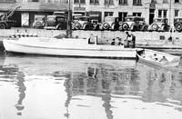 Prohibition; Boats; Detroit River; U. S. Customs Capture Load of Beer