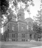 Michigan; Cities; Kalamazoo; Public Buildings; Library; Court House; Post Office.