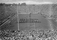 Colleges; University of Michigan; Buildings; Stadium. -Opening Game in New Stadium . -Crowds