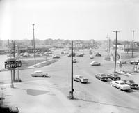 Michigan; Cities; . Allen Park. Michigan - Cities - Allen Park - Main Intersection looking S. E.
