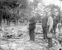 Michigan; Cities; Bath. Bath School Disaster, May 1927 . Senator Couzens and Gov. Green investigation.