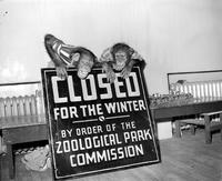 Parks Zoo . closing.