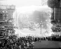 Crowds: Street: Taken During Unemployed Demonstration, March 6, 1930.