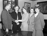Women . Immigration Inspectors Detroit . Emma Zielinski,  Mary King, Alice Rackstraw, Louise Bower, E. E. Adock, Director .