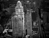 Detroit; Streets; Woodward: Downtown: 1930. .