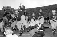 Colleges; University Of Michigan; Football; Team . Rose Bowl team 1950-51
