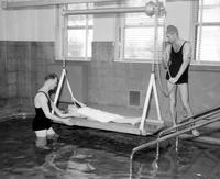 Colleges; University Of Michigan; Hospital  Therapeutic Pool for Treatment of Infantile Paralysis .