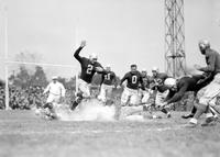 Football; Detroit Lions; Action. Vs. Brooklyn Dodgers (football team)