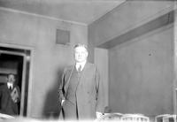 Hoover, Herbert; United States President. -In Detroit. -Prior to 1929 Visit